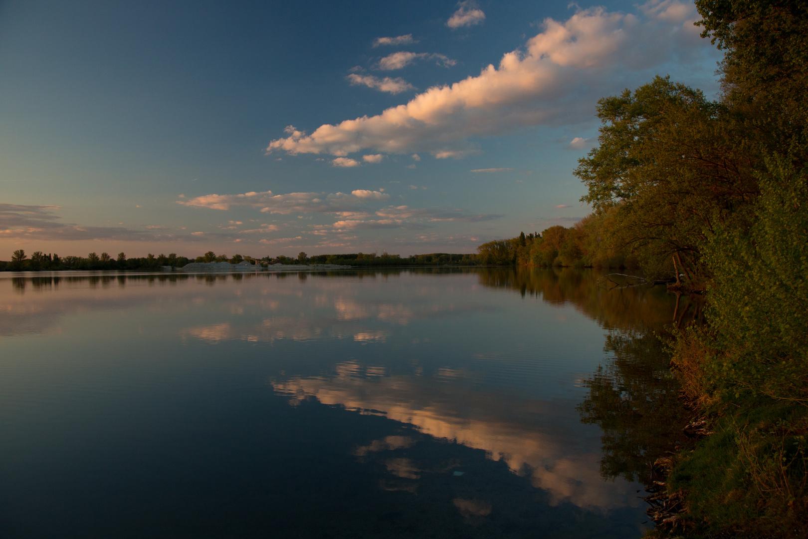 ..die Ruhe am See