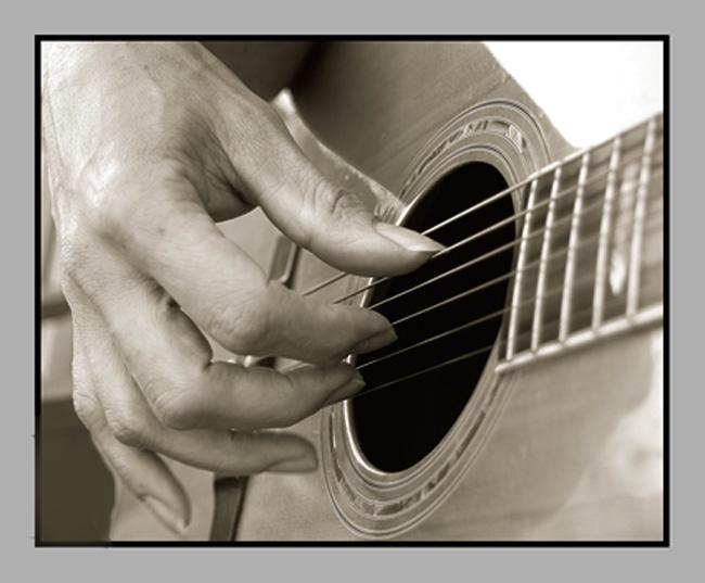 Die ruhe in musik