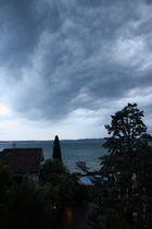 Die Ruhe nach dem Sturm über dem Lago di Garda ...