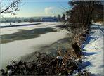 Die Ruhr ist fast zugefroren