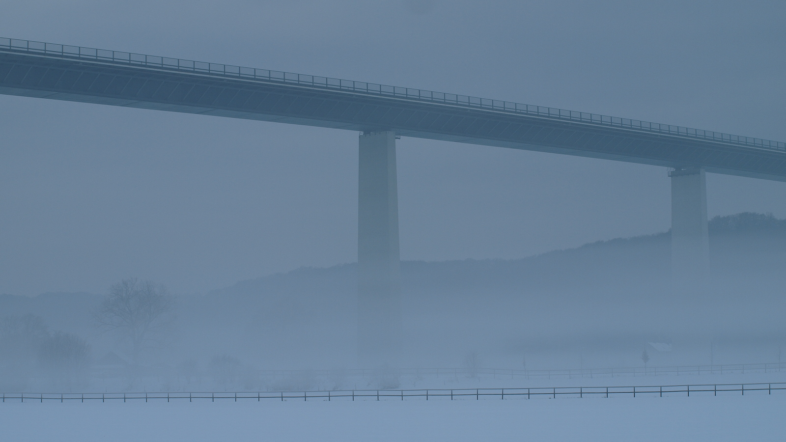 Die Ruhrtalbrücke bei Mülheim