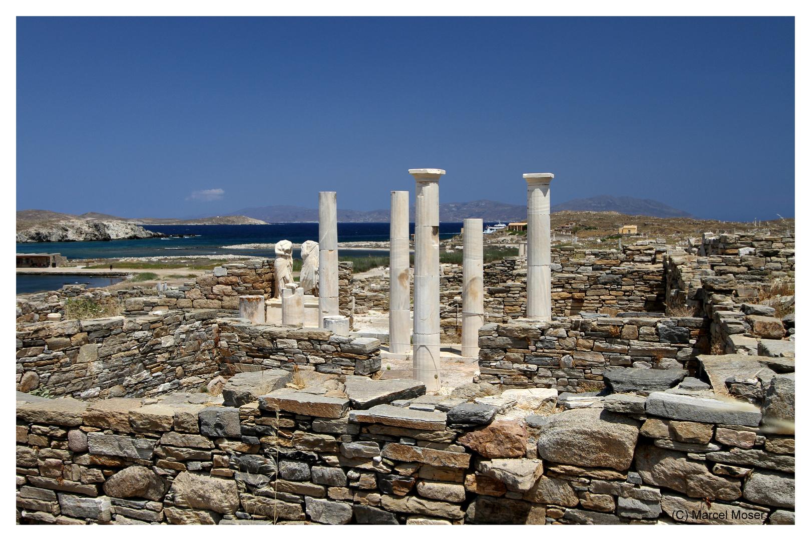Die Ruine des Kleopatra-Hauses