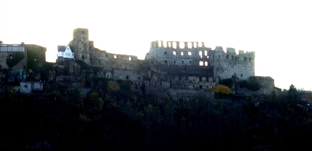 Die Ruine Rheinfels in Sankt Goar