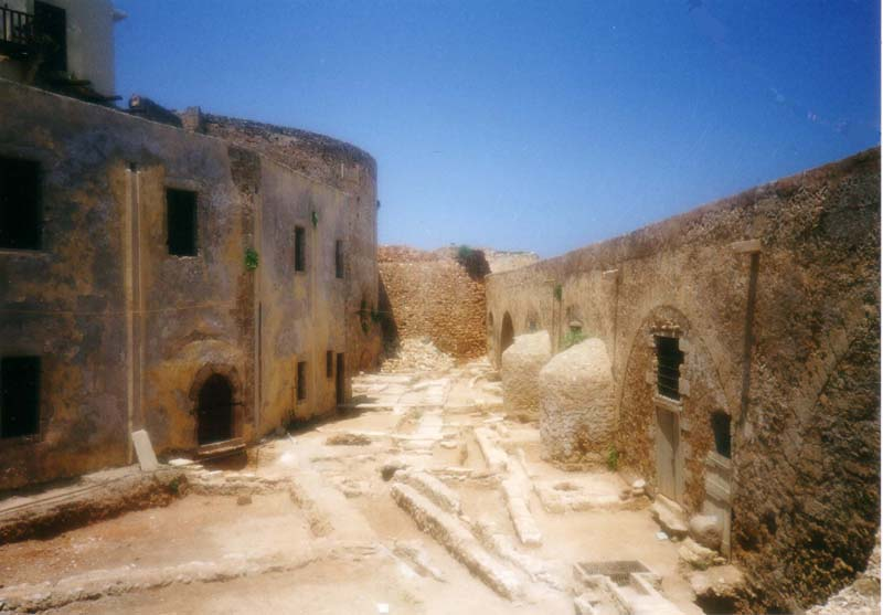 Die Ruinen von Chania