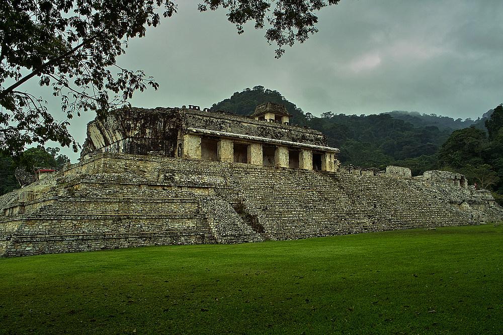 Die Ruinen von Palenque - Herrscherstadt der Mayas - Mexiko