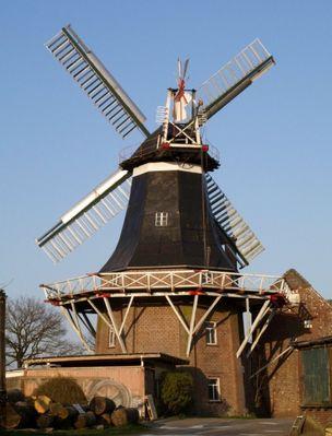 Die Rutteler Mühle bei Neuenburg