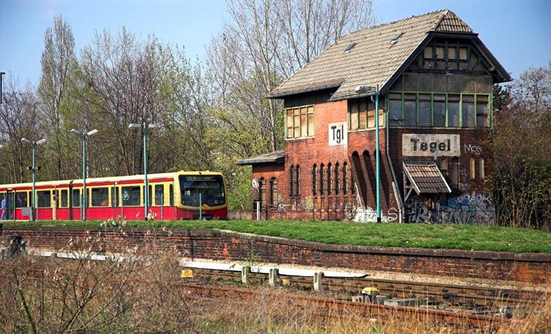 Die S-Bahn in Tegel
