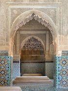 Die Saadi-Gräber in Marrakesch
