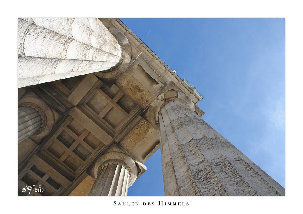 Die Säulen des Himmels ...