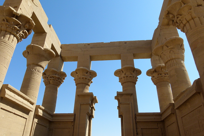 ...die Säulen des Trajankiosk...