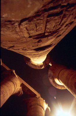Die Säulen von Karnak