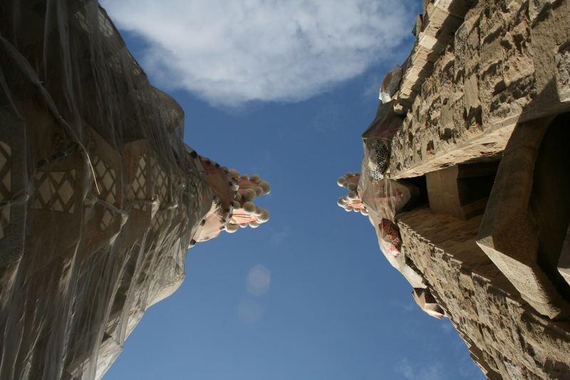 ...Die Sagrada Familia in Barcelona...