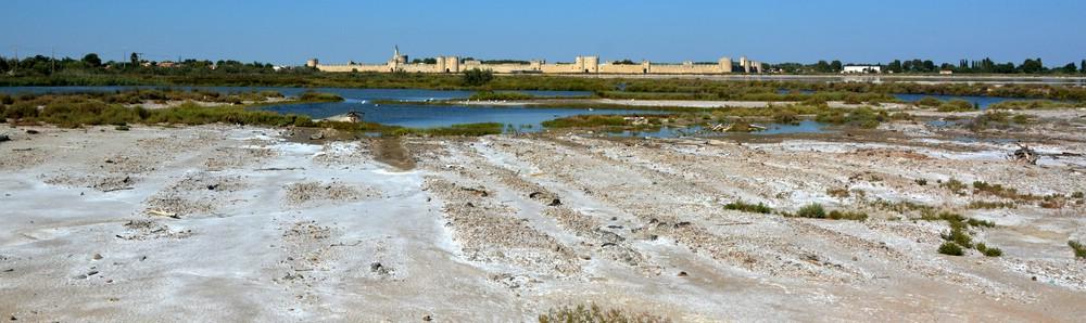 Die Salinen von Aigues Mortes
