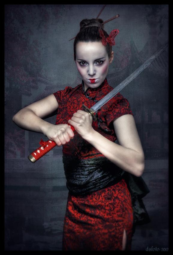 Die Samurai-Geisha