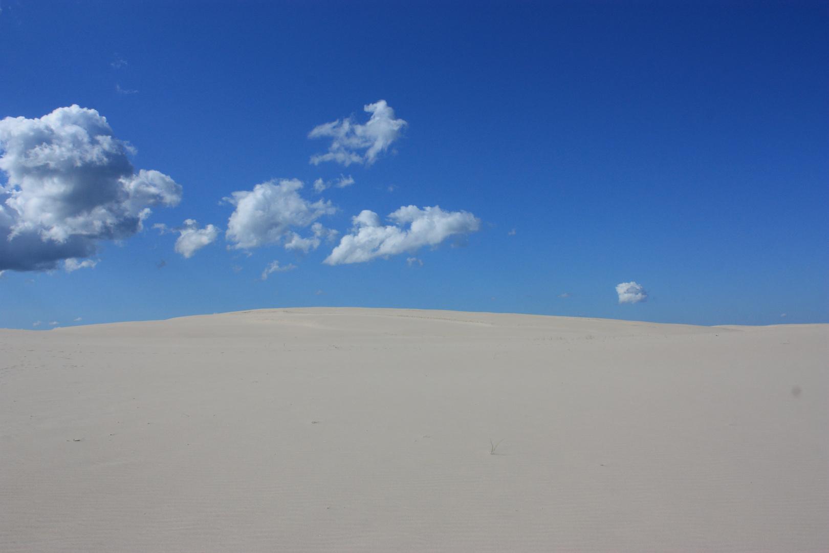 Die Sanddünen von Leba
