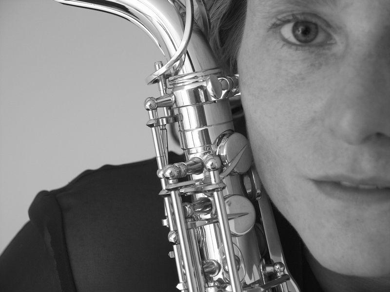 Die Saxophonistin 2