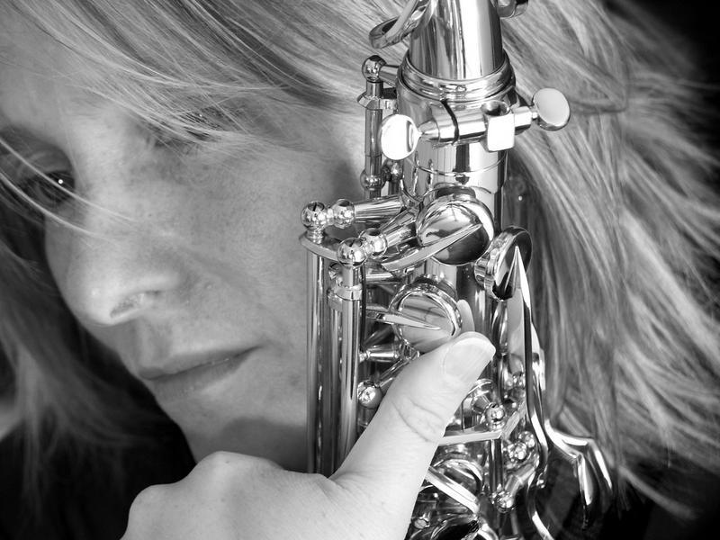 Die Saxophonistin 4