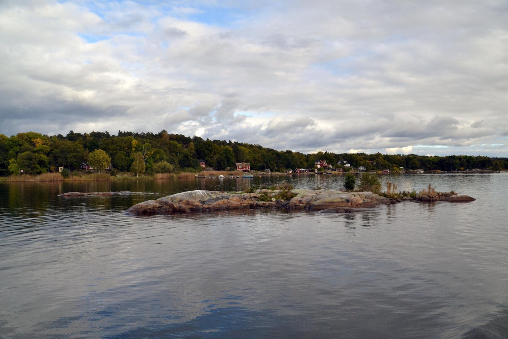 Die Schäreninseln vor Stockholm