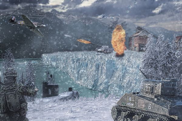 Die Schlacht bei den Polarminen