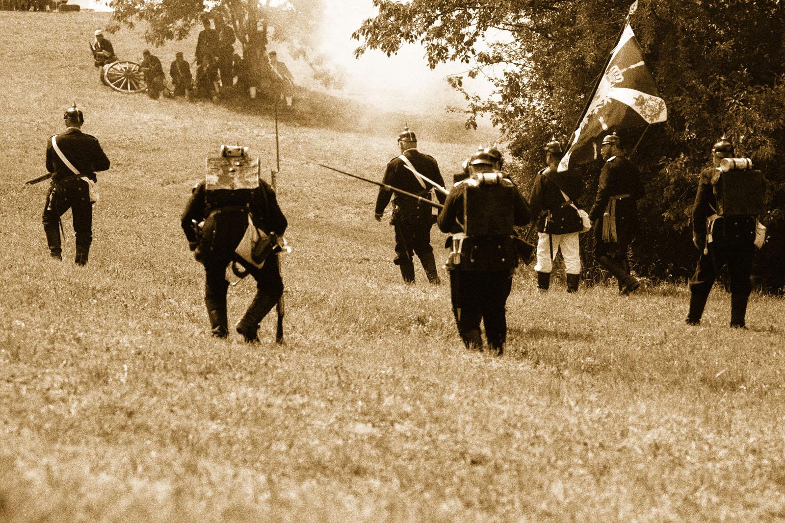 Die Schlacht bei Spicheren am 6. August 1870 Bild 3