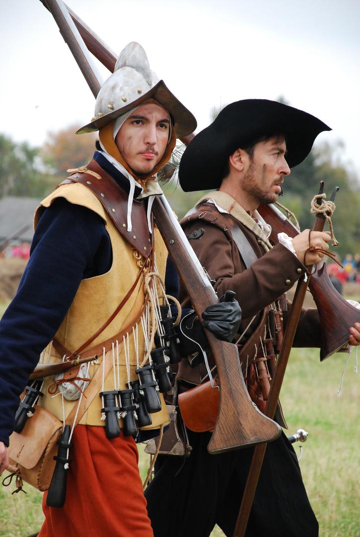 Die Schlacht um Grolle 1623 - Musketeers
