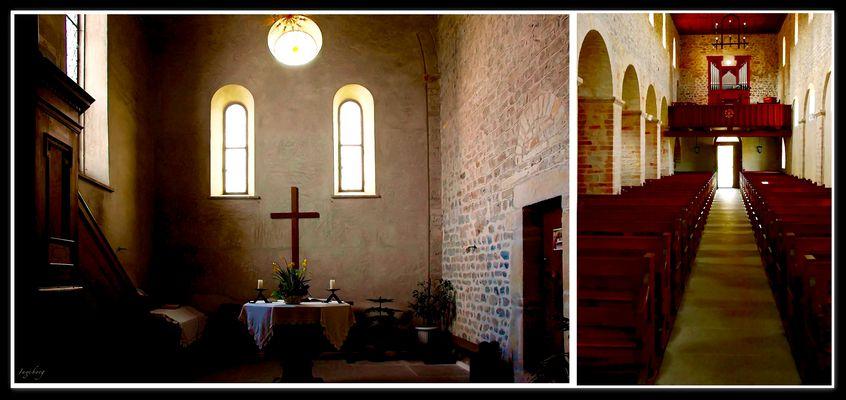Die schlichte Klosterkirche