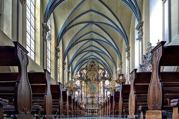 Die Schloßkirche am Schloß