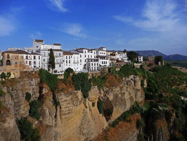 Die Schlucht von Ronda - Andalusien