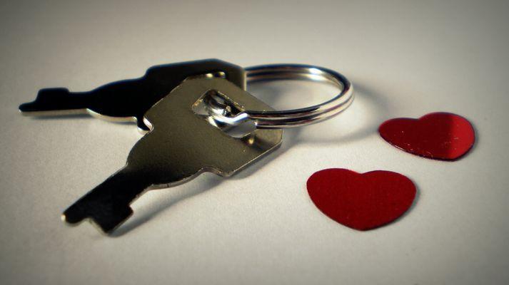Die Schlüssel zu den zwei Herzen