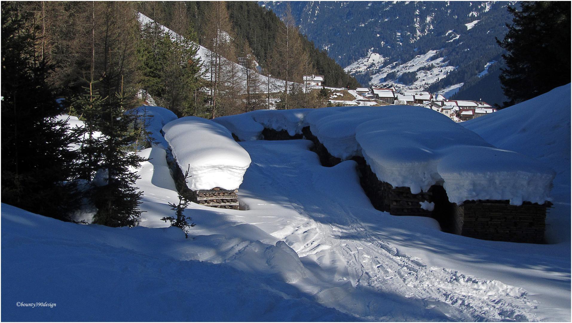 Die Schneedecke hält noch einwenig
