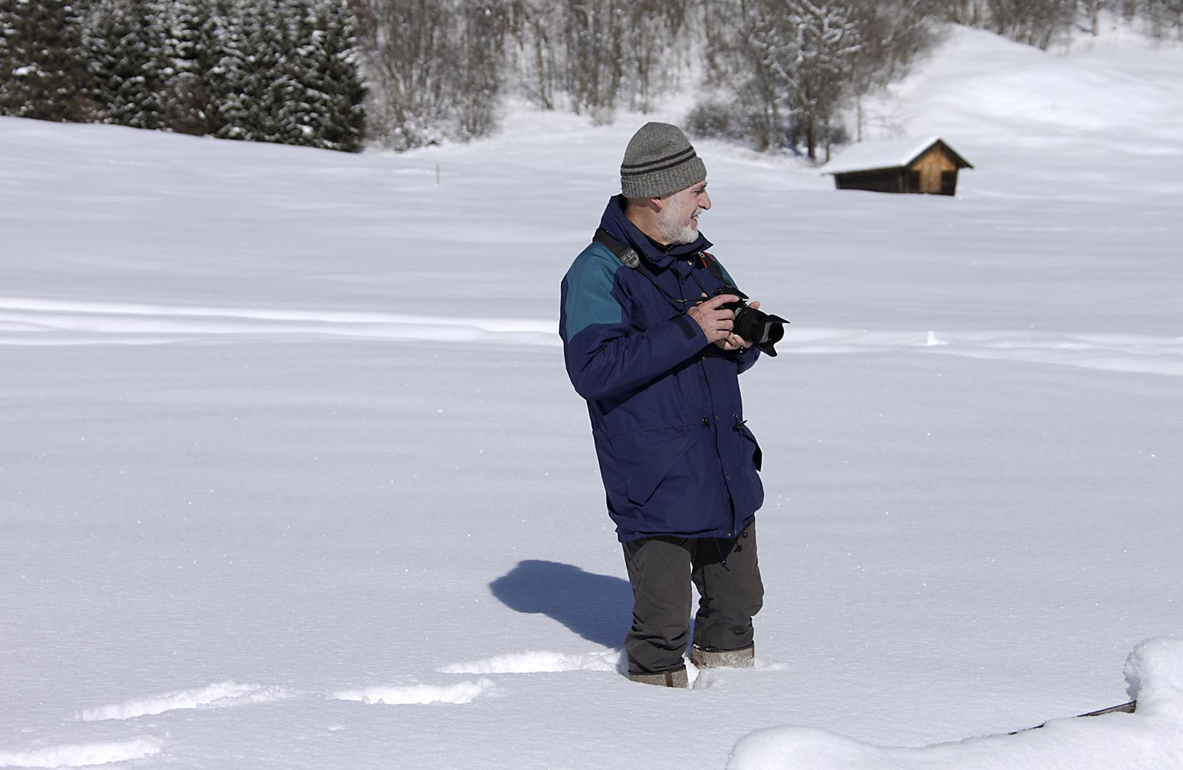 die Schneehöhe