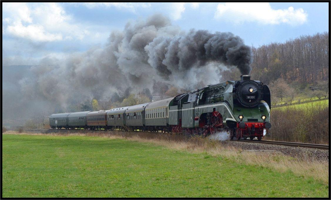 Die schnellste betriebsfähige Dampflok der Welt....