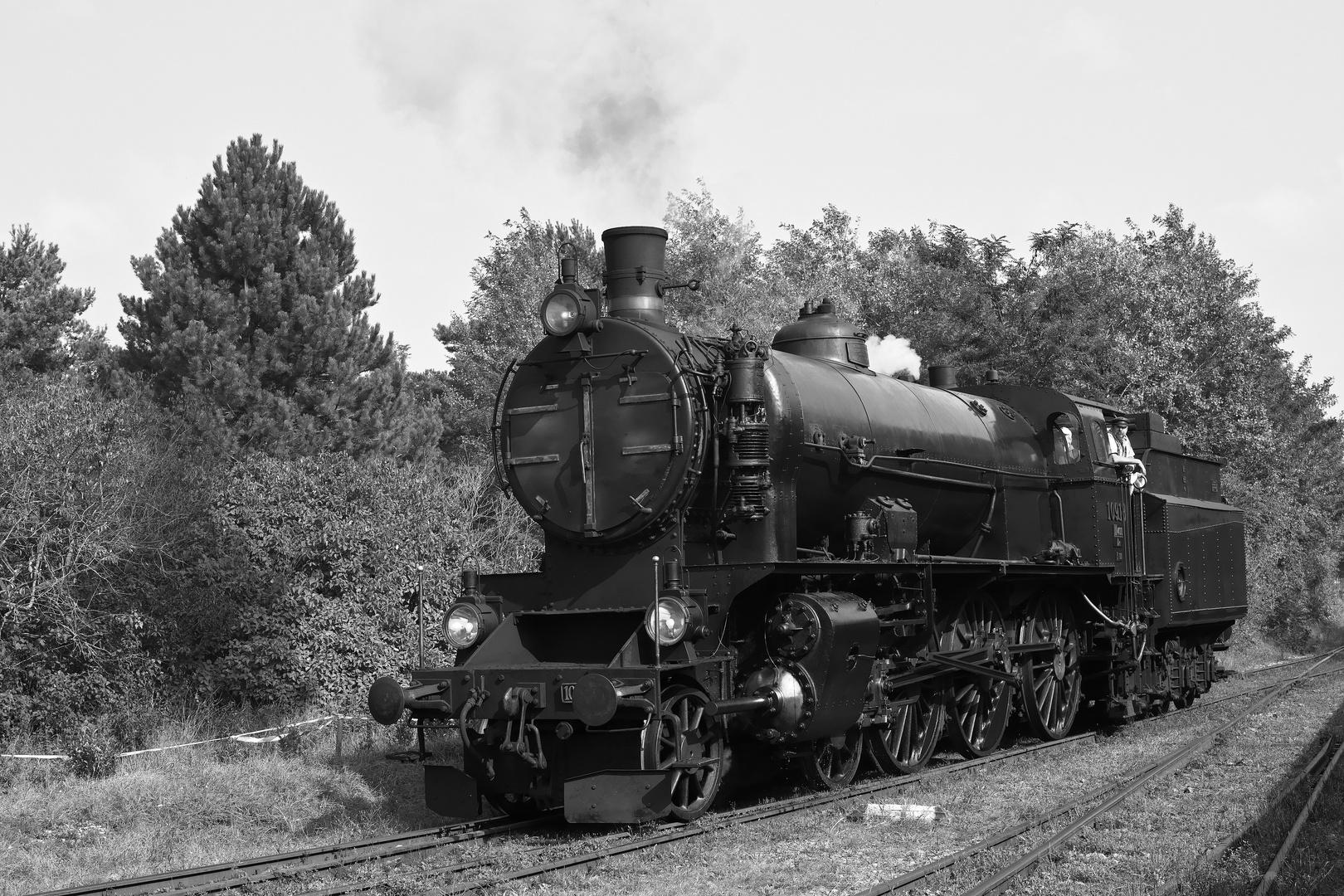 Die Schnellzug-Schlepptenderlokomotive 109.13