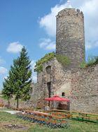 Die Schönburg im Saaletal
