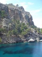 Die schöne Bucht am Ende von Sa Calobra