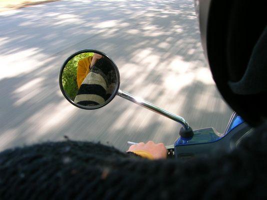 die schöne mopedfahrt