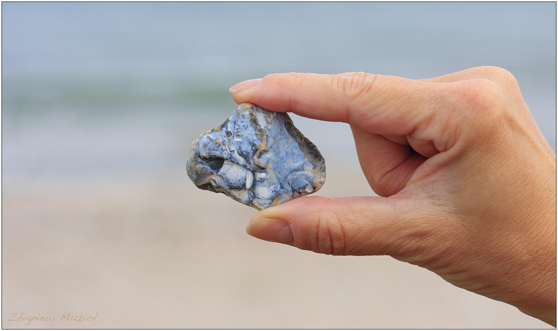 die Schönheit des unscheinbaren Steins...