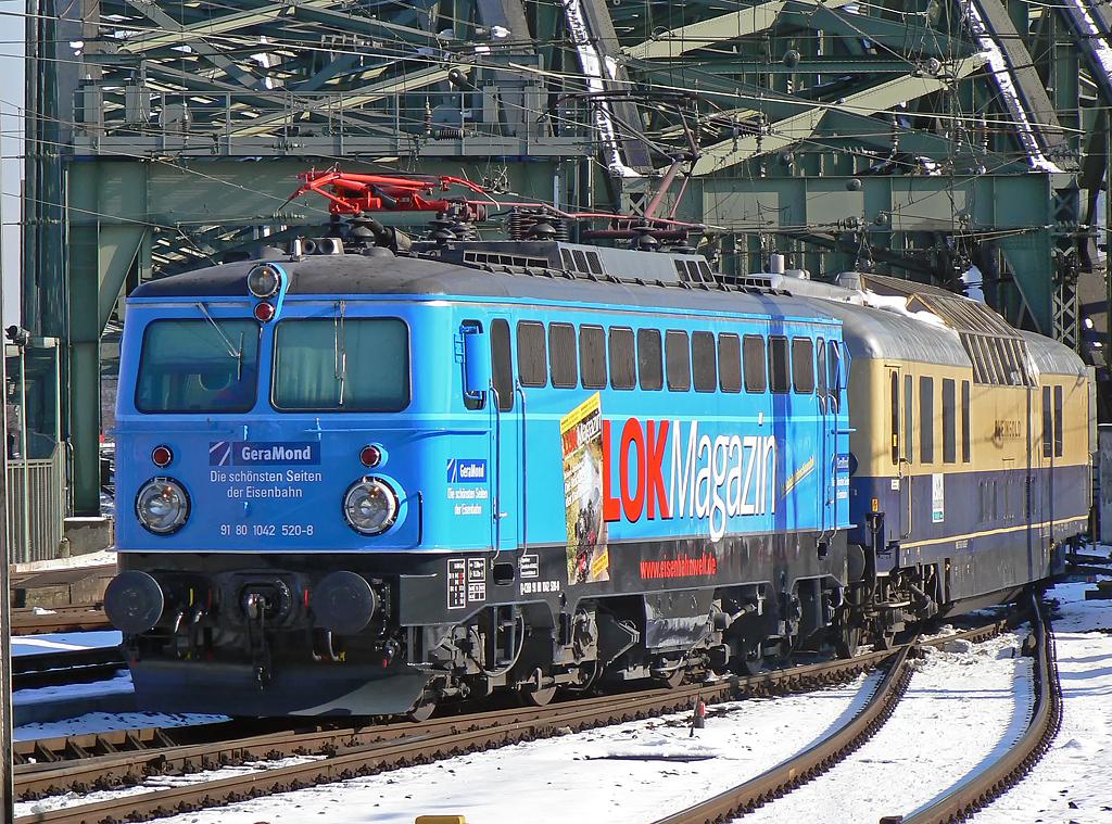 Die schönsten Seiten der Eisenbahn.....