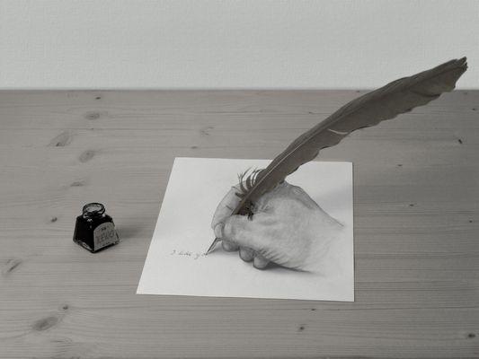 Die Schreibfeder
