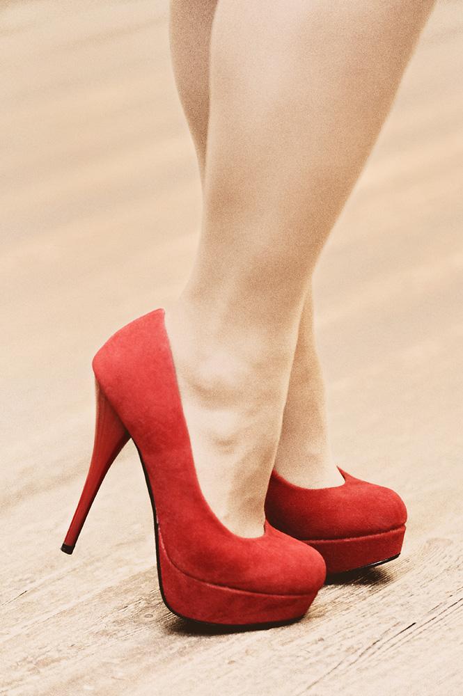 die Schuhe von Dolores...
