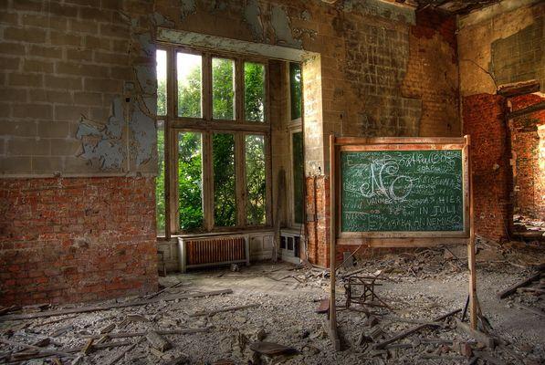 Die Schule ist aus