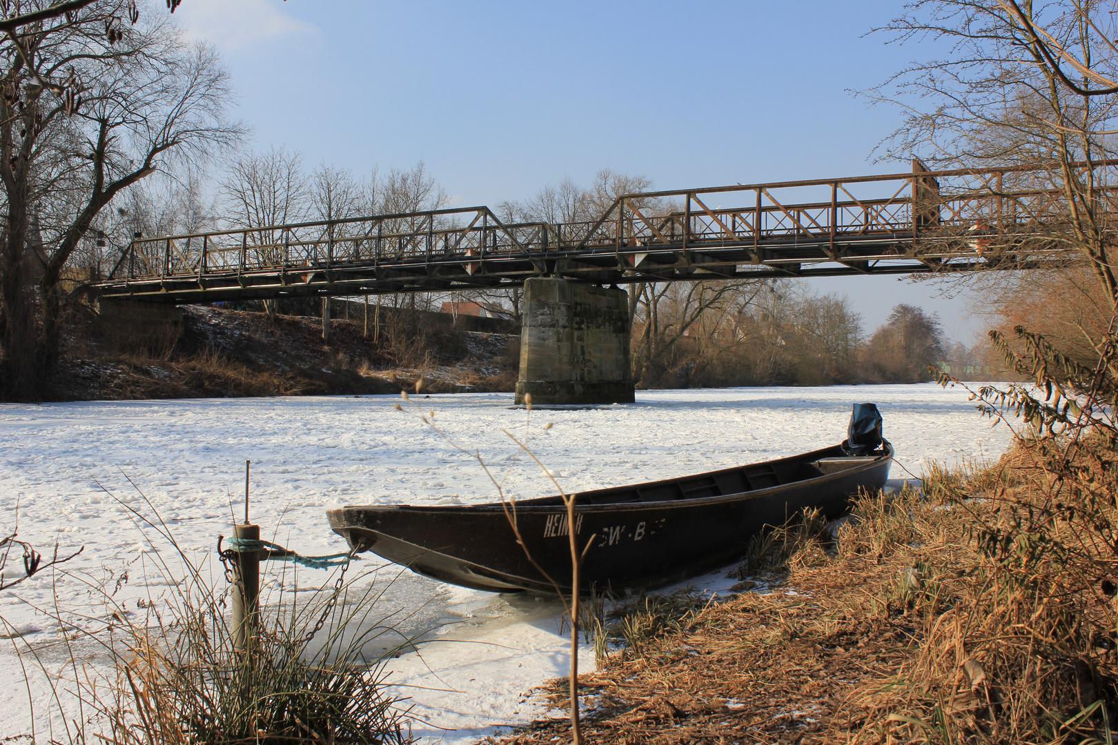 "Die "" Schwarze Brücke "" in Bamberg"