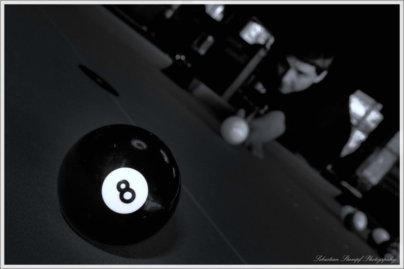 Die schwarze Nummer - 8