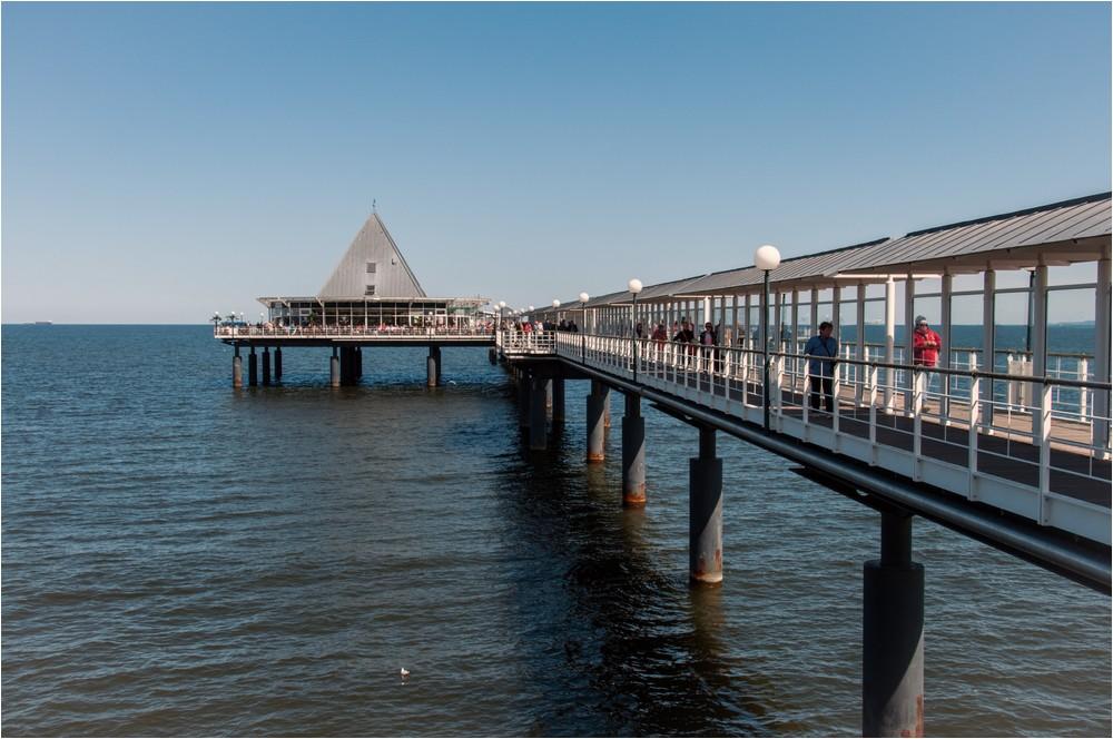 Die Seebrücke ...
