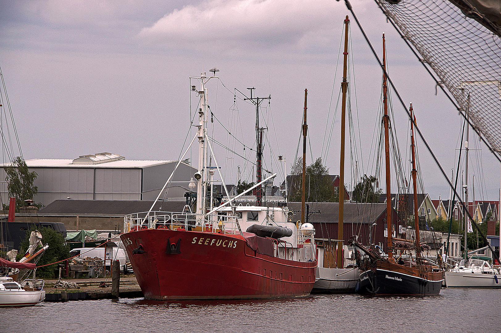 Die SEEFUCHS im Museumshafen Greifswald