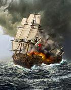 Die Seeschlacht....