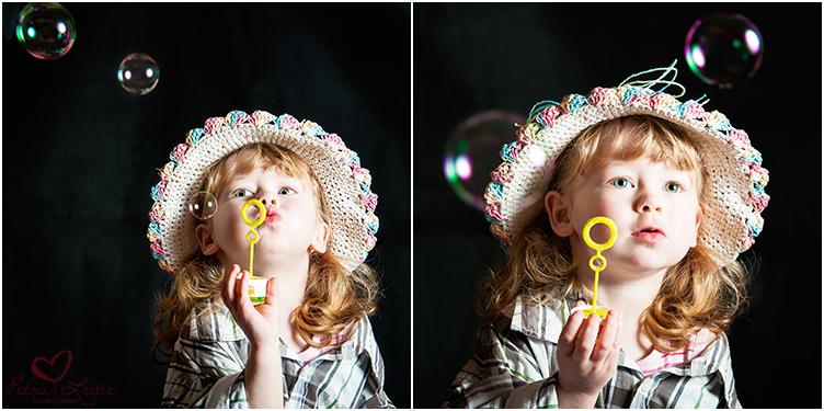Die Seifenblasen...