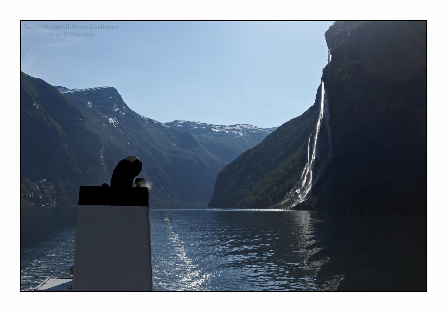 Die sieben Schwestern 2 - Geirangerfjord, Norwegen