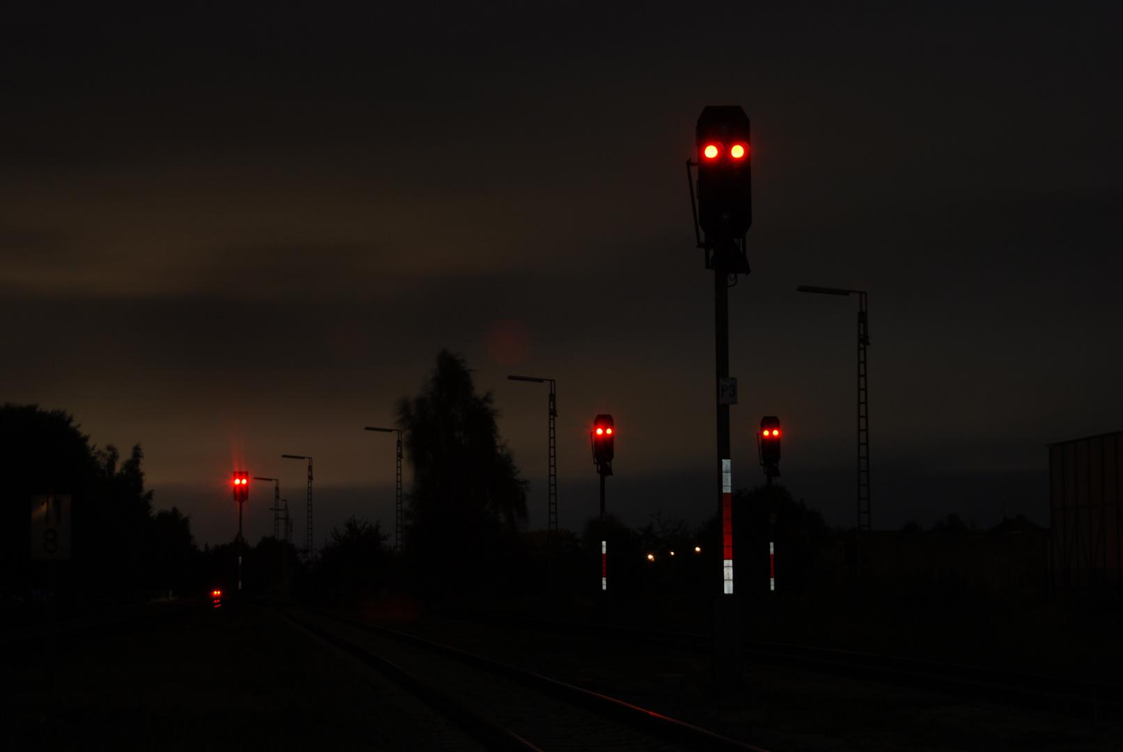 Die Signale von Bobingen