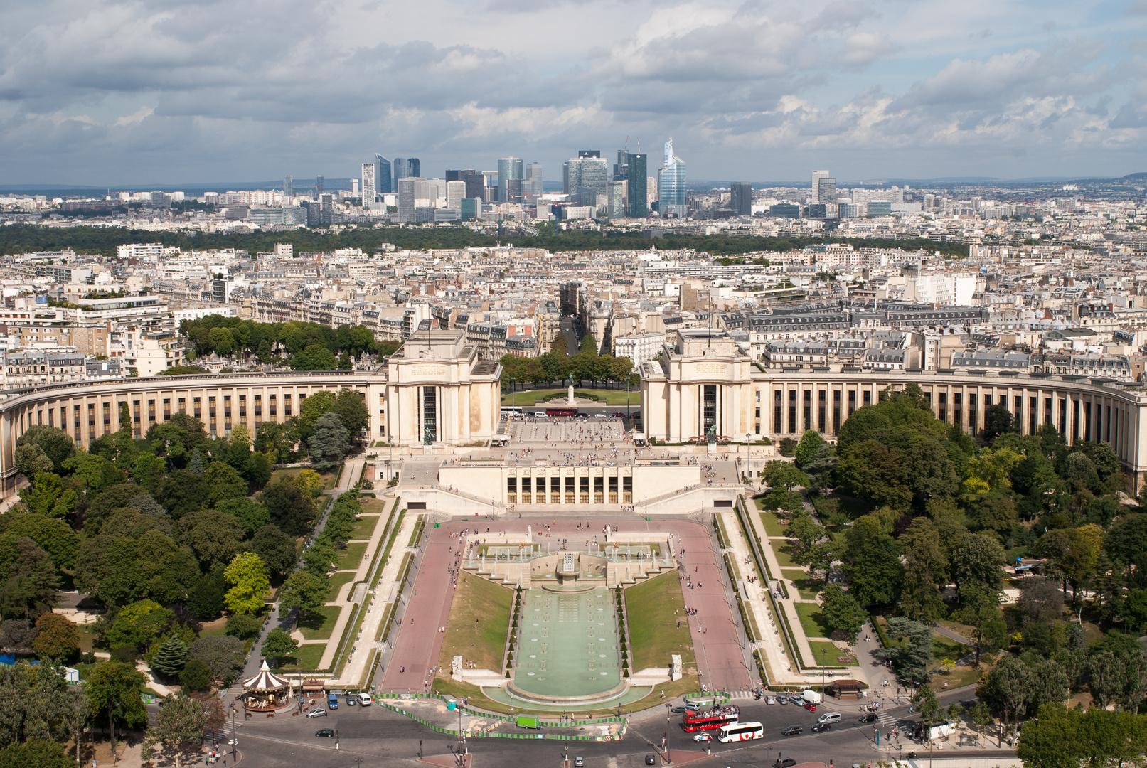 Die Skyline von Paris...